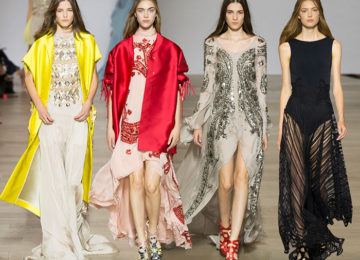 Antonio Berardi Spring/Summer 2016 Collection – London Fashion Week