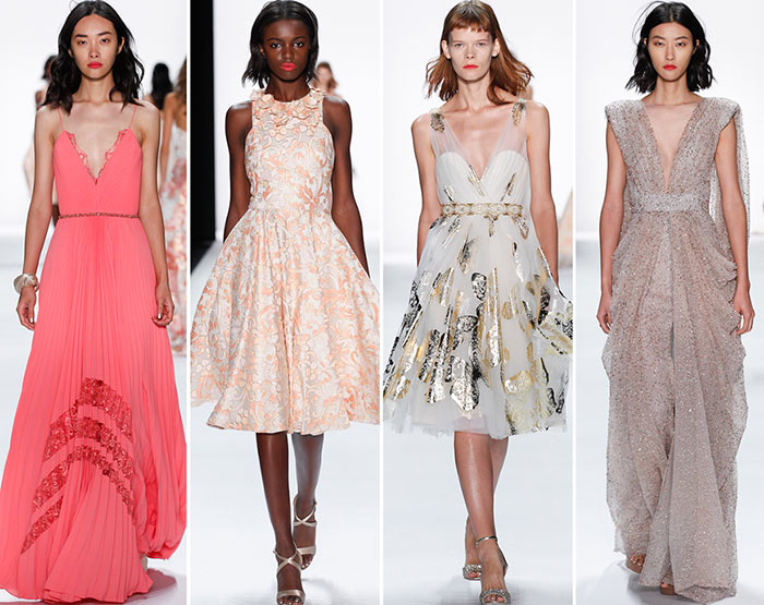 Badgley Mischka Spring/Summer 2016 Collection