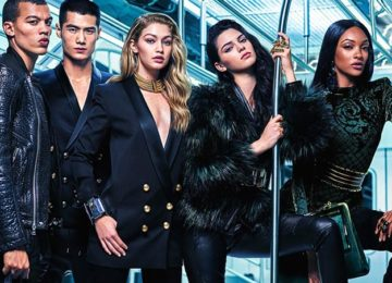 The Full Balmain x H&M Fall 2015 Campaign