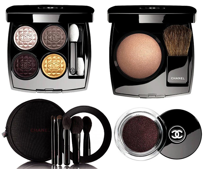 Chanel Rouge Noir Absolument Holiday 2015 Makeup
