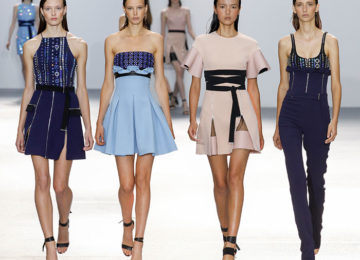 David Koma Spring/Summer 2016 Collection – London Fashion Week