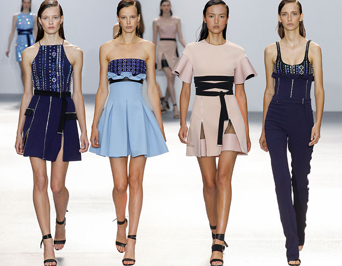 David Koma Spring/Summer 2016 Collection