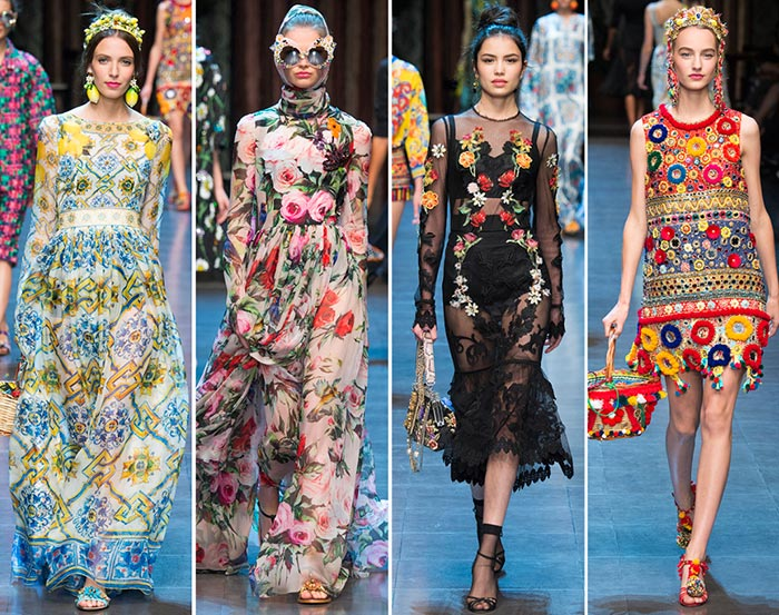 Dolce & Gabbana Spring/Summer 2016 Collection