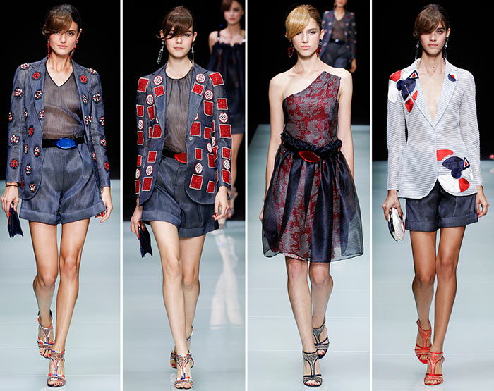 Giorgio Armani Spring/Summer 2016 Collection