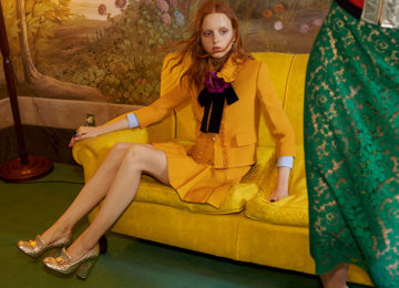 Gucci's Resort 2016 Collection Hits Stores and Already Has an Ad Campaign