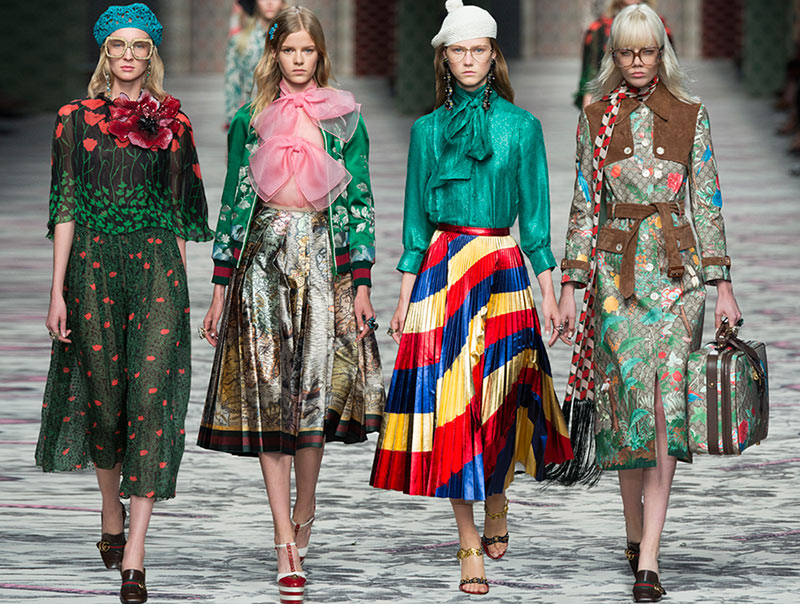 Favorito Gucci Spring/Summer 2016 Collection - Milan Fashion Week  KS14