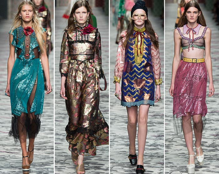 Gucci summer dress collection