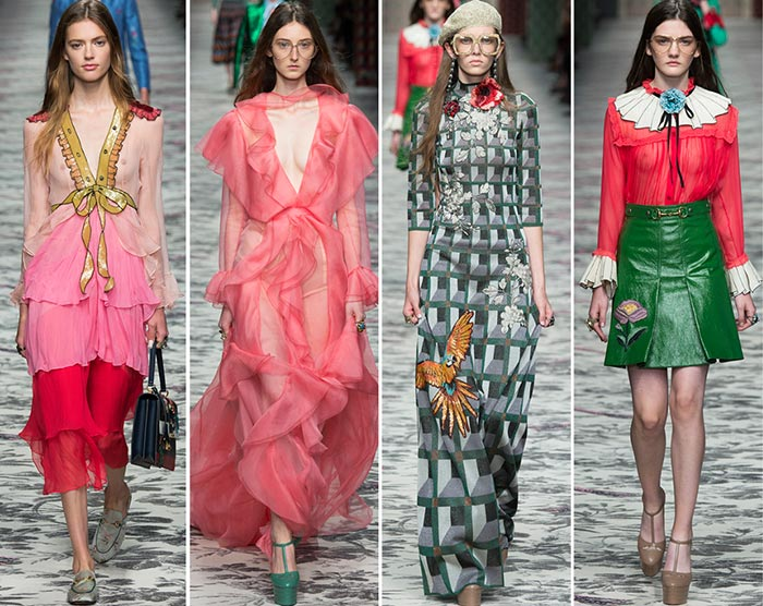 Gucci spring summer 2018 dresses for weddings