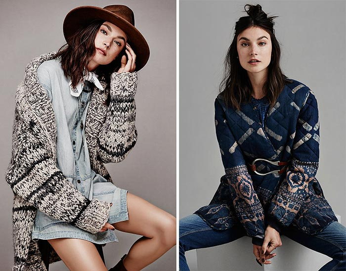 Jacquelyn Jablonski In Free People's 'Pioneer Spirit' Lookbook 2015