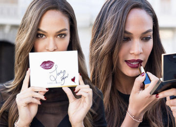 Joan Smalls Launches a Lipstick Line for Estee Lauder