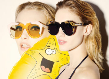 Karen Walker Launches Colorful and Artistic Sunglasses