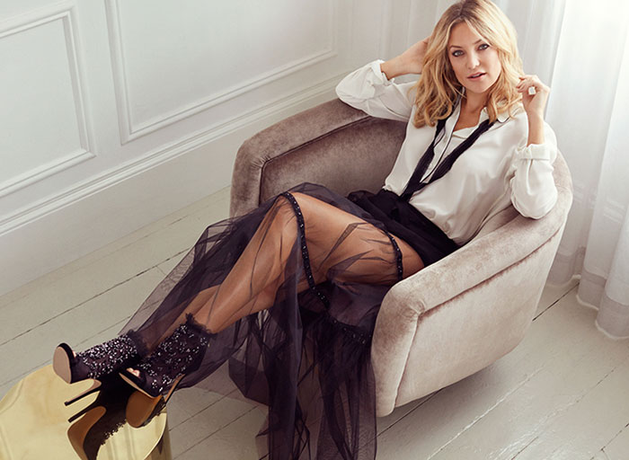 Kate Hudson for Jimmy Choo's Fall 2015 Campaign