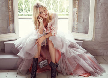 Kate Hudson Models Jimmy Choo's Fall 2015 Collection
