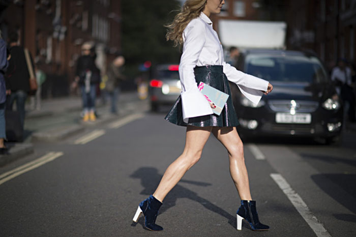 London Fashion Week Spring 2016 Street Style