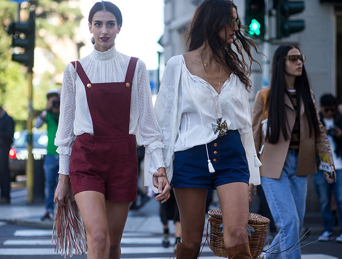 Milan Fashion Week Spring 2016 Street Style