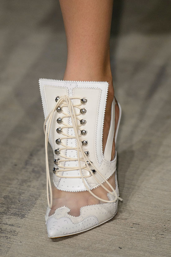 NYFW Spring 2016 Accessories: Givenchy Boots