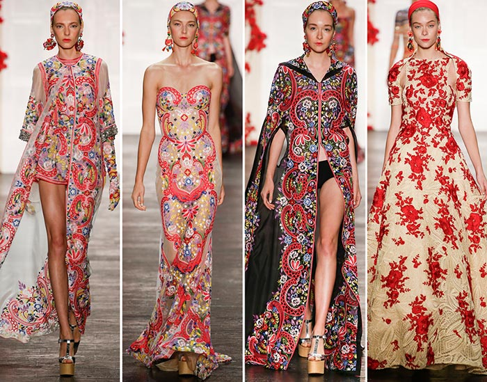 Naeem Khan Spring/Summer 2016 Collection