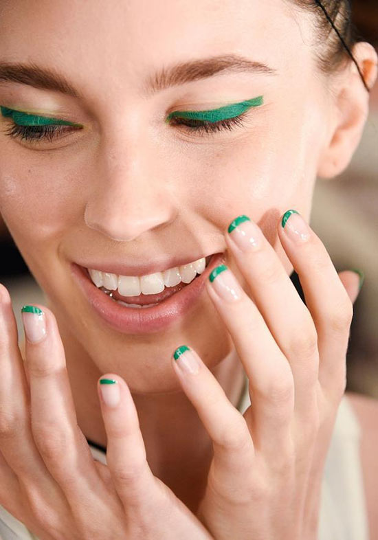New York Fashion Week Spring 2016 Beauty: Matchy Nails