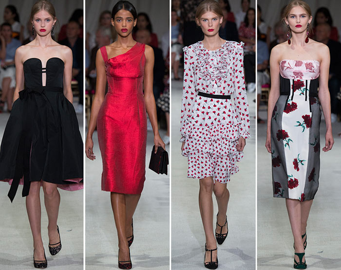Oscar de la Renta Spring/Summer 2016 Collection