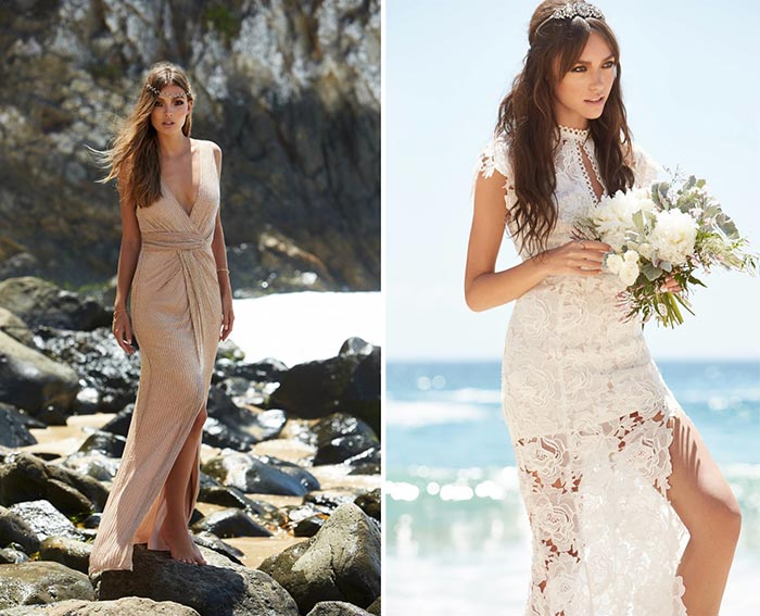 REVOLVE Clothing Fall 2015 Wedding Dresses