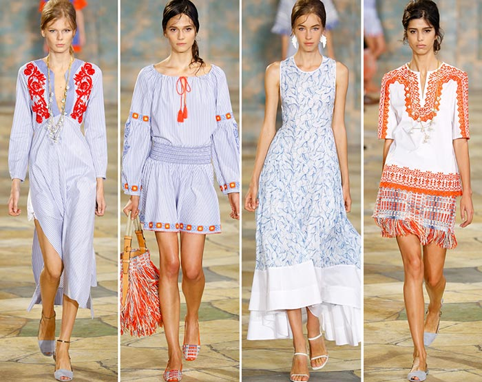 Tory Burch Spring/Summer 2016 Collection