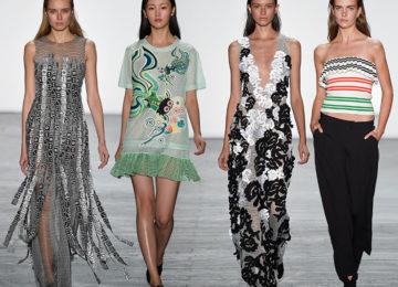 Vivienne Tam Spring/Summer 2016 Collection – New York Fashion Week