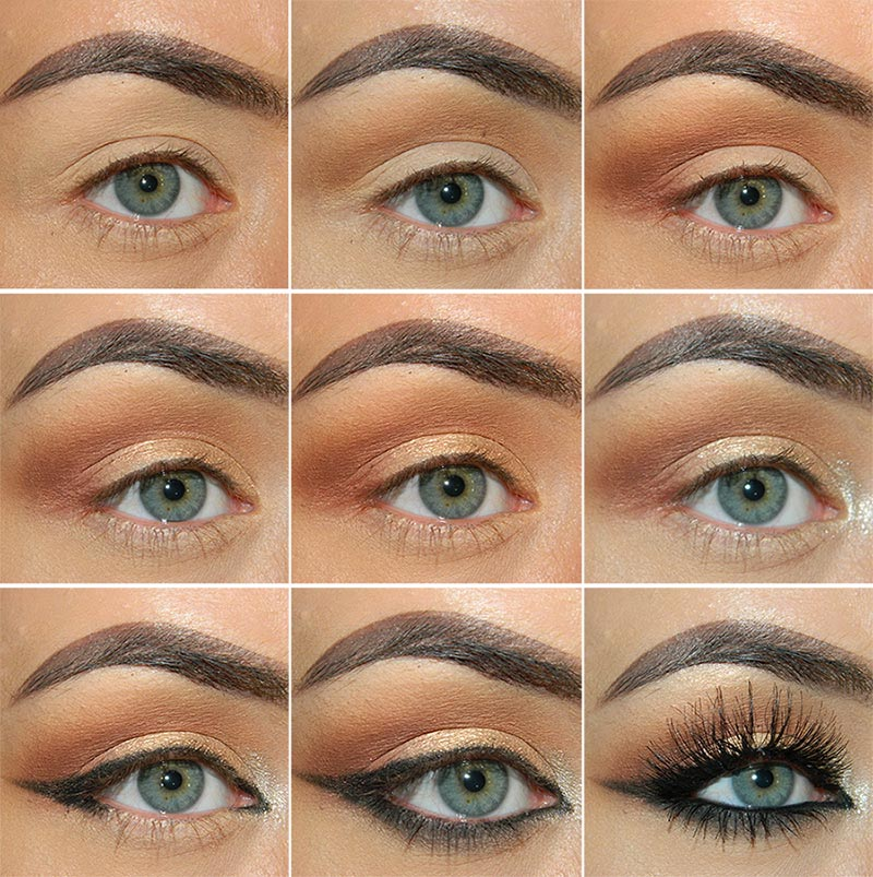 Classic Fall Makeup Tutorial In Neutral Colors