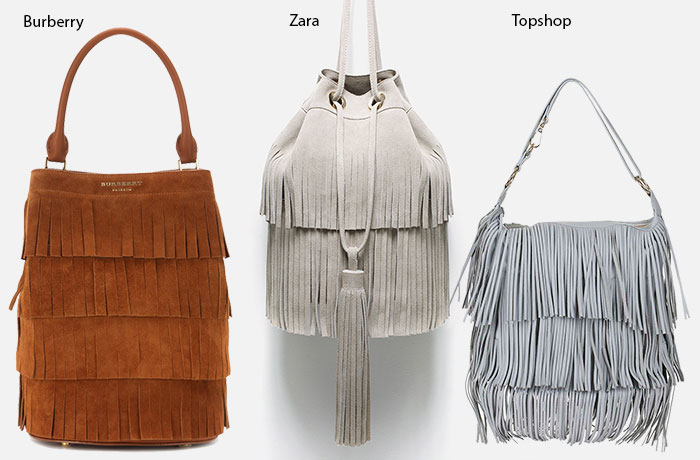 5 Cool Designer Bags for Fall 2015: Burberry Fringed Bag