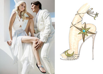 Poppy Delevingne and Aquazzura Team Up to Design Shoes