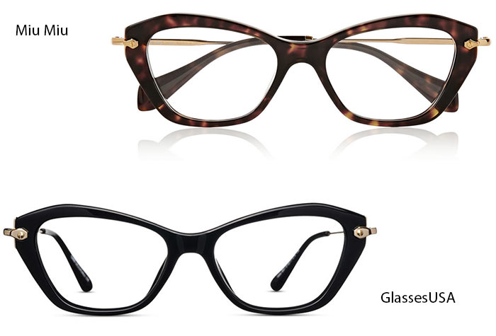 Trendiest Glasses With Their Alternate Affordable Options : Miu Miu