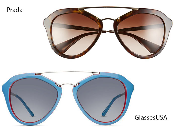 Trendiest Glasses With Their Alternate Affordable Options : Prada