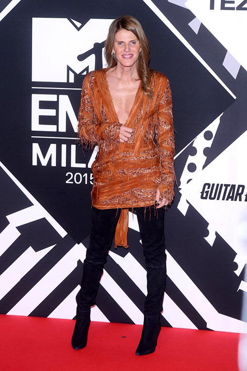 2015 MTV Europe Music Awards Celebrity Style: Anna Dello Russo