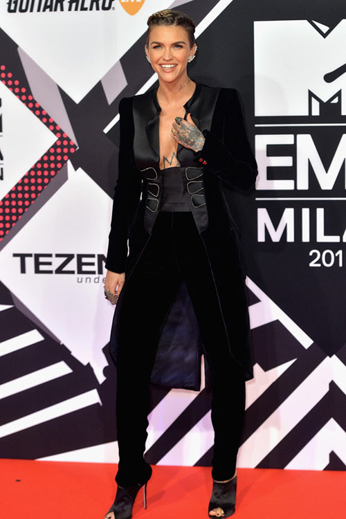 2015 MTV Europe Music Awards Celebrity Style: Ruby Rose