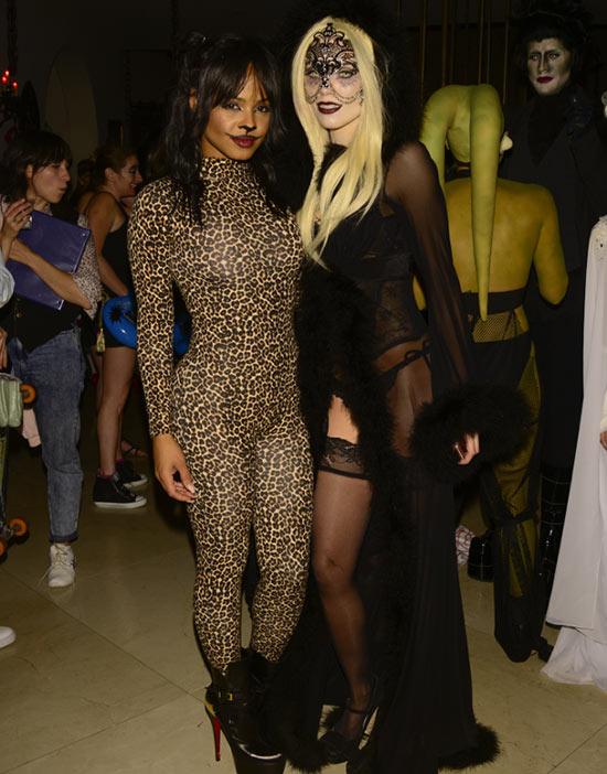 Celebrity Halloween Costumes 2015: Annaline MacCord & Christina Milian