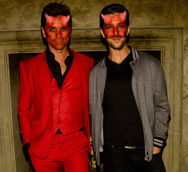 Celebrity Halloween Costumes 2015: John Stamos & Josh Peck