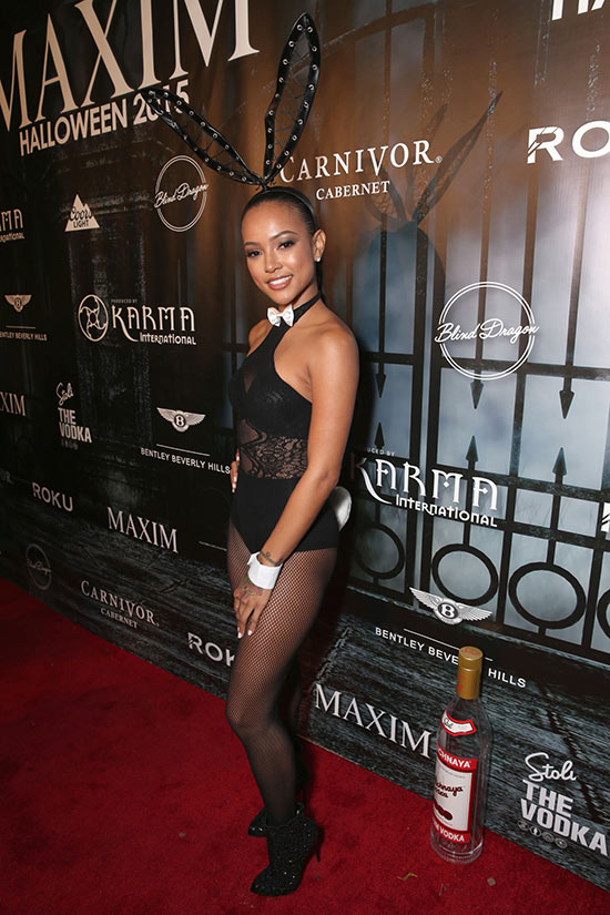 Celebrity Halloween Costumes 2015: Karrueche Tran