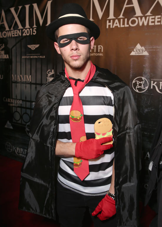Celebrity Halloween Costumes 2015: Nick Jonas