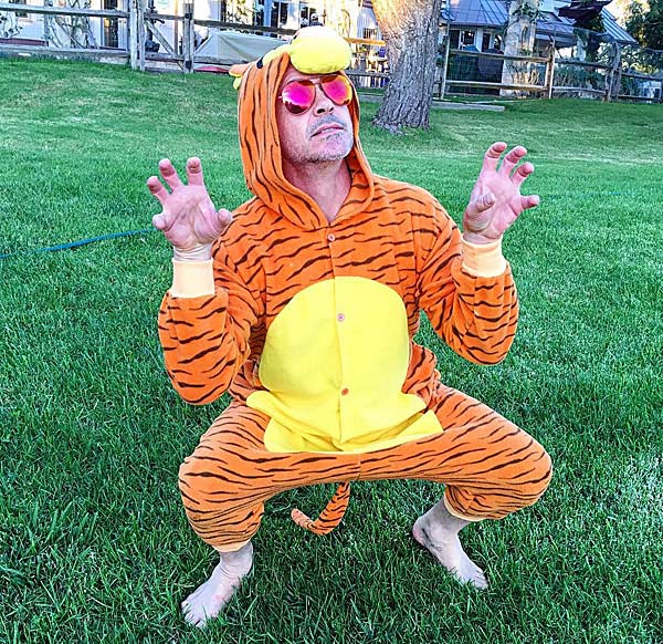 Celebrity Halloween Costumes 2015: Robert Downey Jr.