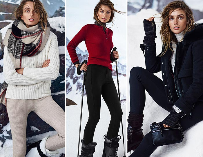 Massimo Dutti Apres Ski Fall/ Winter 2015-2016 Collection