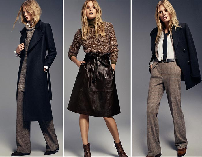 Constance Jablonski for Massimo Dutti Urban Fall 2015 Lookbook