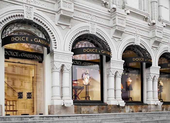 Dolce & Gabbana Moscow Store