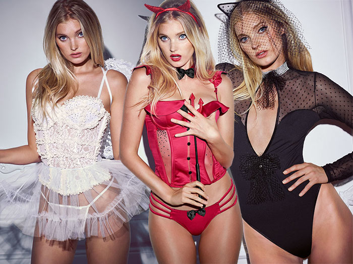 Victoria's Secret Halloween 2015 Lookbook Featuring Elsa Hosk