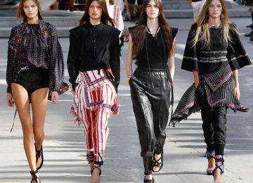 Isabel Marant Spring/Summer 2016 Collection – Paris Fashion Week