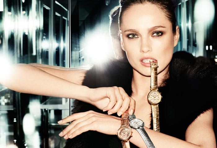 Karmen Pedaru for Michael Kors Holiday 2015 Campaign