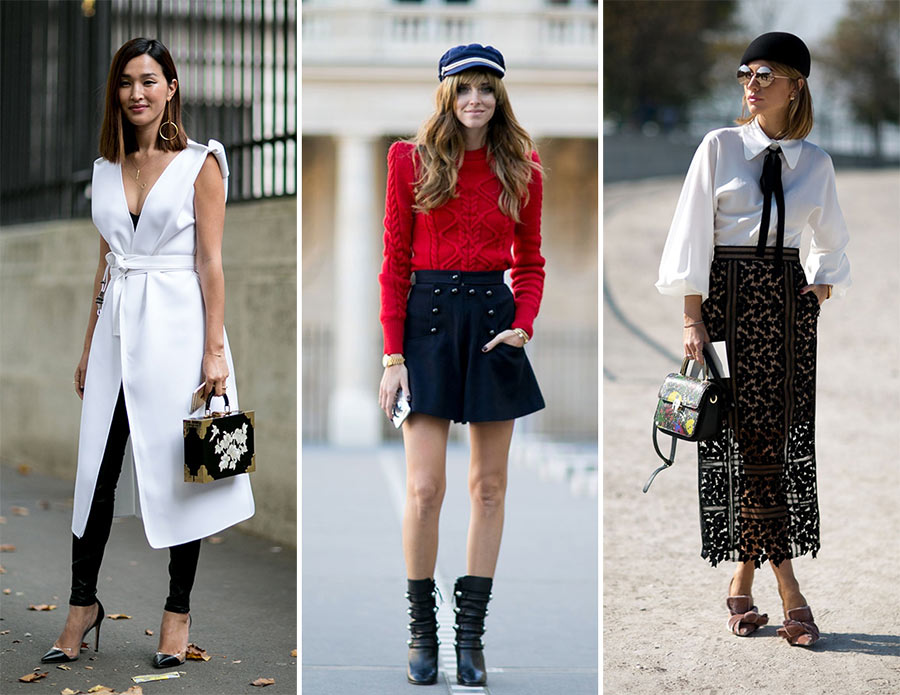 Paris Fashion Week Spring 2016 Best Street Style Looks