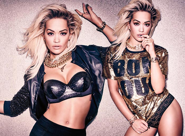 Rita Ora for Tezenis Winter 2015 Campaign