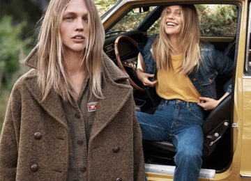 Sasha Pivovarova Stars In Mango's Natural State Fall 2015 Lookbook