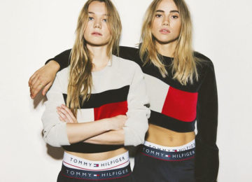 '90s Revived In the Tommy Hilfiger x My Theresa Capsule Collection