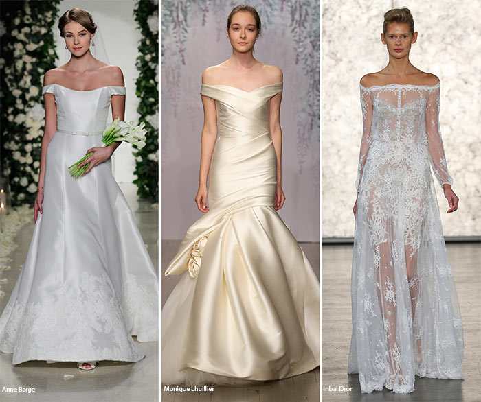 Fall 2016 Bridal Trends: Off-the-Shoulder Wedding Dresses