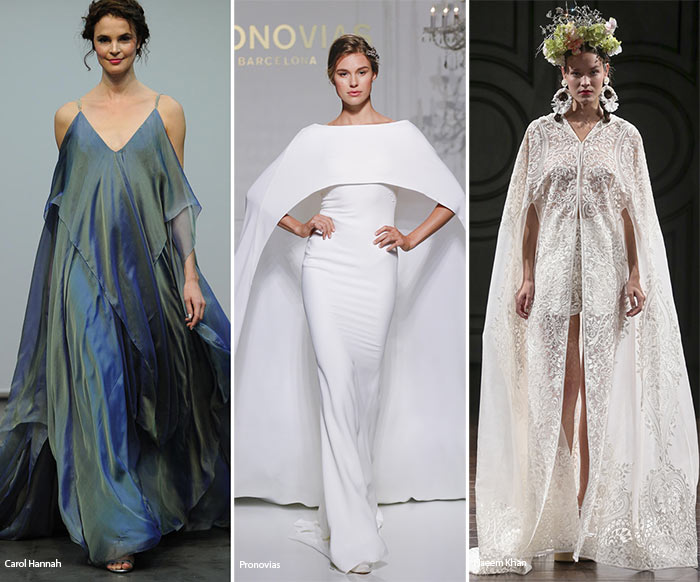 Fall 2016 Bridal Trends: Wedding Dresses With Capes